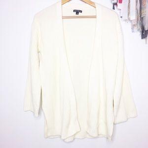 J. Crew Mercantile Cream cardigan cotton EUC